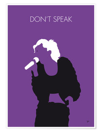 Poster No051 MY NO DOUBT Minimal Music poster