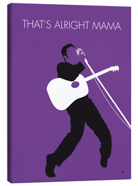 Canvas print  No021 MY ELVIS Minimal Music poster - chungkong