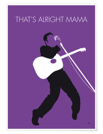 Premium poster Elvis - That's Alright Mama
