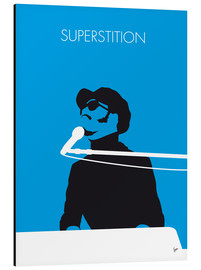 Aluminium print  Stevie Wonder, Superstition - chungkong
