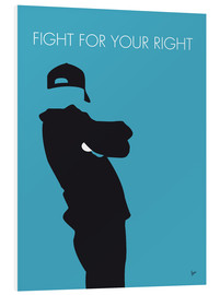 Foam board print  Beastie Boys - Fight For Your Right - chungkong