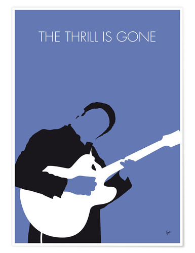 Premium poster B.B. King - The Thrill Is Gone
