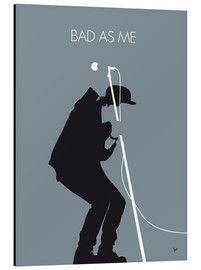 Aluminium print  Tom Waits, Bad as me - chungkong