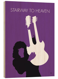 Wood print  Led Zeppelin, Stairway to Heaven - chungkong