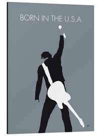 Aluminium print  Bruce Springsteen, born in the U.S.A. - chungkong