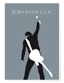 Premium poster  Bruce Springsteen, born in the U.S.A. - chungkong