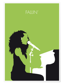 Premium poster No066 MY ALICIA KEYS Minimal Music poster