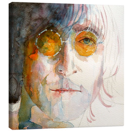 Canvas  John Winston Lennon - Paul Paul Lovering Arts