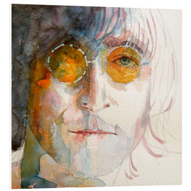 Foam board print  John Winston Lennon - Paul Lovering