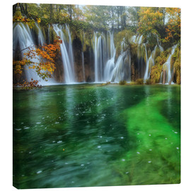 Canvas print  Plitvice Waterfalls - Ramdan Rashid