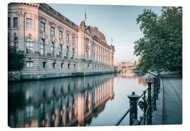 Canvas print  Bode Museum Reflection in the River Spree - Philipp Dase