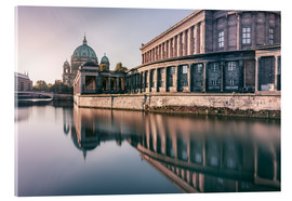 Acrylic print  Museum Island and Berliner Dom in the morning - Philipp Dase