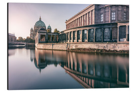 Aluminium print  Museum Island and Berliner Dom in the morning - Philipp Dase
