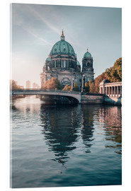 Acrylic print  Berliner Dom in rising autumn light - Philipp Dase