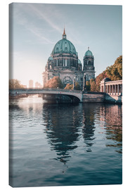 Canvas print  Berliner Dom in rising autumn light - Philipp Dase