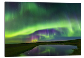 Aluminium print  Northern Lights - Dave Derbis