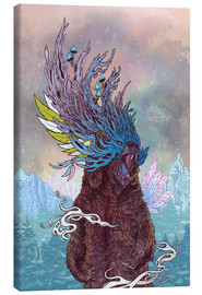Canvas print  Journeying Spirit (bear) - Mat Miller