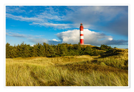 Premium poster  Lighthouse on the North Sea island Amrum - Rico Ködder