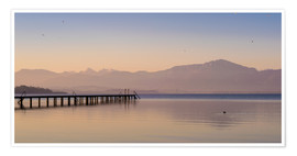 Martin Wasilewski - Dawn at Lake Chiemsee