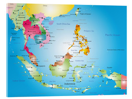 Acrylic glass  Southeast Asia - Hotels, before 2002