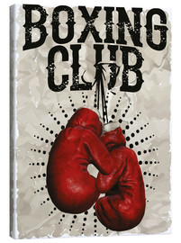 Canvas print  Boxing