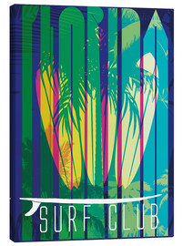 Canvas print  Surf Club Florida