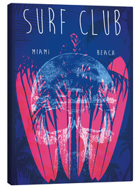 Canvas  Surf Club Miami Grunge