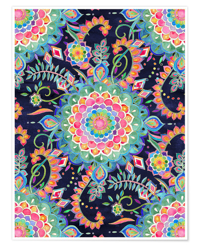 Poster Color Celebration Mandala