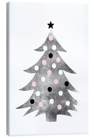 Canvas print  Polka-dot Christmas tree - Ohkimiko