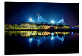 Acrylic glass  Bremen Stadium - Tanja Arnold Photography