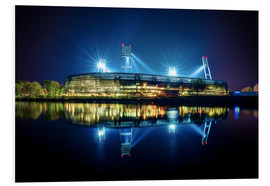 Foam board print  Bremen Stadium - Tanja Arnold Photography