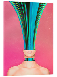 Acrylic print  My Other Face Is A cactus - Adam Priester