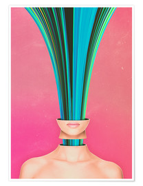 Premium poster  My Other Face Is A cactus - Adam Priester