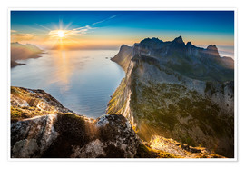 Markus Ulrich - View from Beautiful Segla Mountain, Senja, Norway