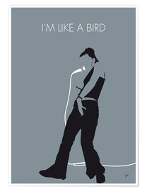 Premium poster MY Nelly Furtado Minimal Music poster