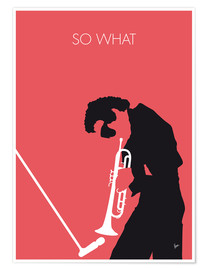 Premium poster  Miles Davis, so what - chungkong