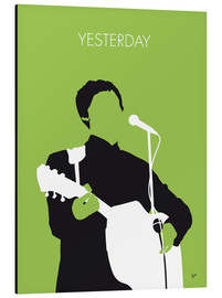 Aluminium print  MY PAUL MCCARTNEY Minimal Music poster - chungkong