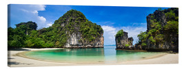 Canvas print  thailand hong Iceland beach Panorama - Vincent Xeridat