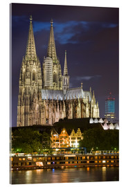 Acrylic print  cathedral of cologne - Dieterich Fotografie
