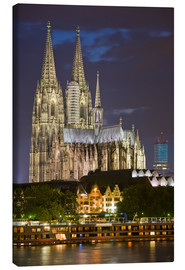 Canvas print  cathedral of cologne - Dieterich Fotografie