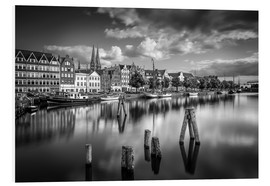 Foam board print  Under Lubeck - Jens Korte