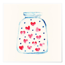 Poster  Love in a glass - Kidz Collection