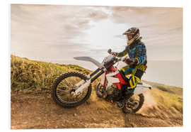 Forex  Enduro rider on the coast