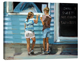 Canvas  Beach Kiosk - Claire McCall