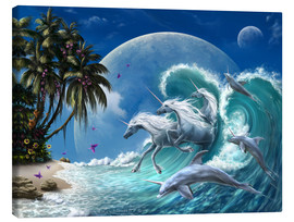 Canvas  Guardians of Aquarius - Susann H.