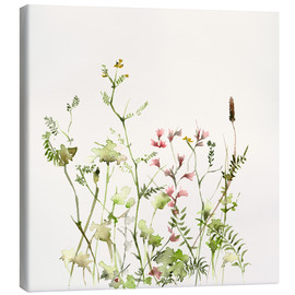 Canvas  Wild flower meadow - Dearpumpernickel