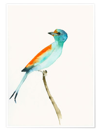Premium poster  Bird of Paradise - Dearpumpernickel