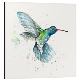 Aluminium print  Hummingbird flurry - Sillier Than Sally