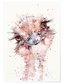 Poster  Who Me? (Emu) - Sillier Than Sally