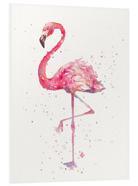Foam board print  A Flamingos Fancy - Sillier Than Sally